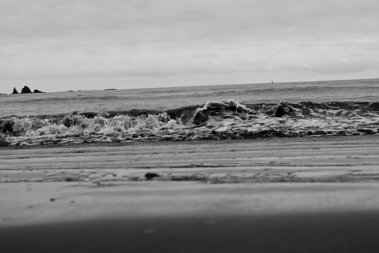 First Beach Waves | One Chel of an Adventure