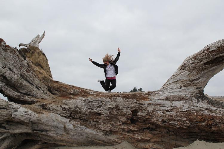 Jumping First Beach | One Chel of an Adventure