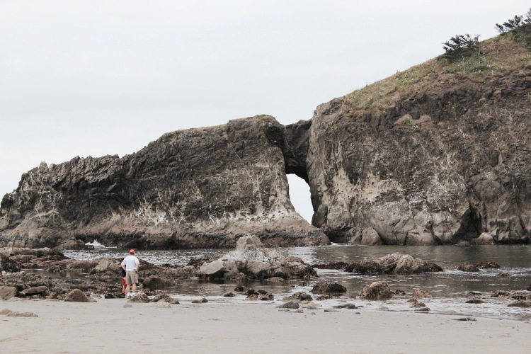 First Beach Rock Formation   One Chel of an Adventure