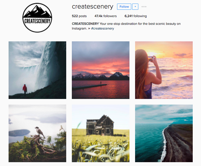 50+ Instagram Accounts that will feature your Epic travel photos