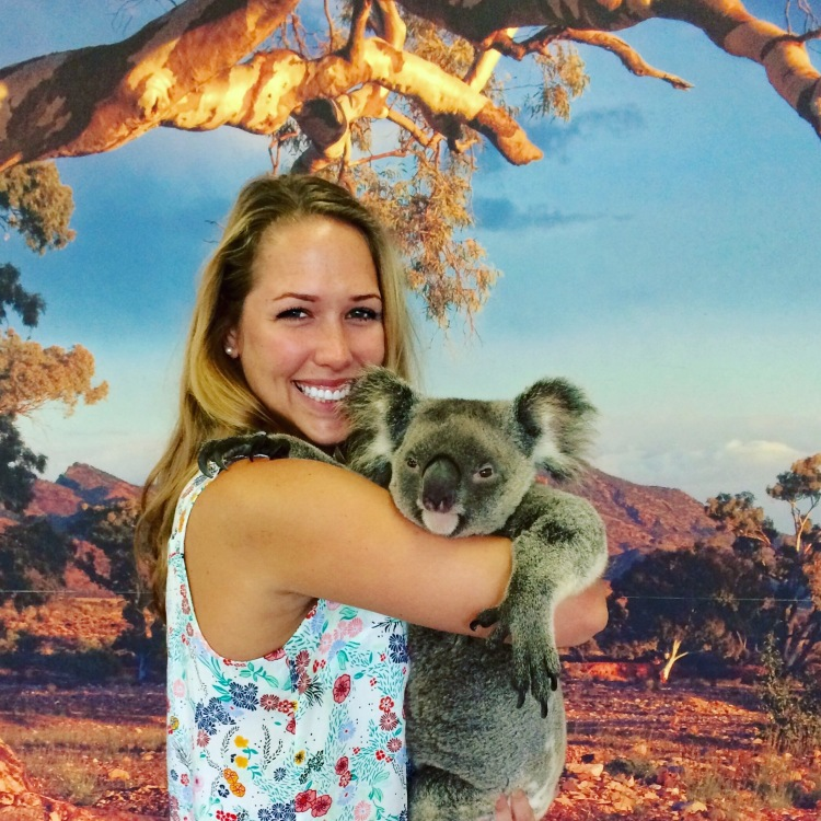 Picture with a Koala