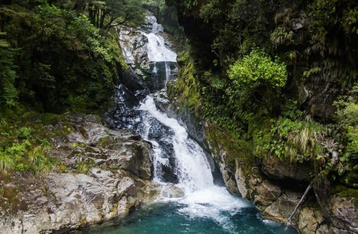 New Zealand Waterfall 9