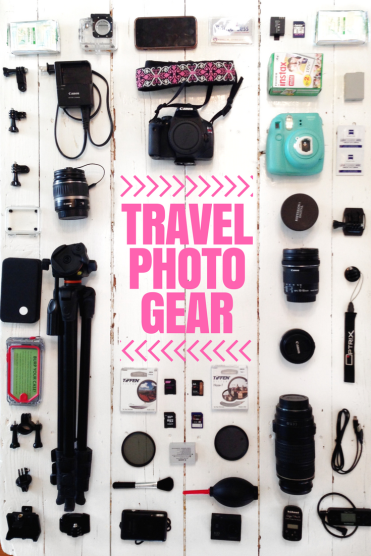My Travel Photo Gear: Cameras & Accessories