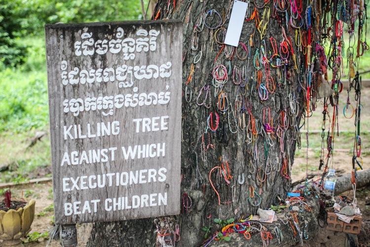 Visiting The Cambodian Killing Fields and S21 Prison | Cambodian Genocide | Killing Tree | Phnom Penh, Cambodia
